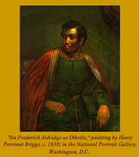 Aldridge as Othello w. caption.