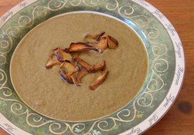 Cream of chanterelle soup